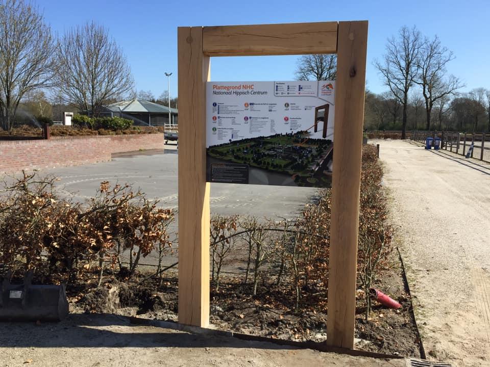 KNHS (NHC) houten frame + FC