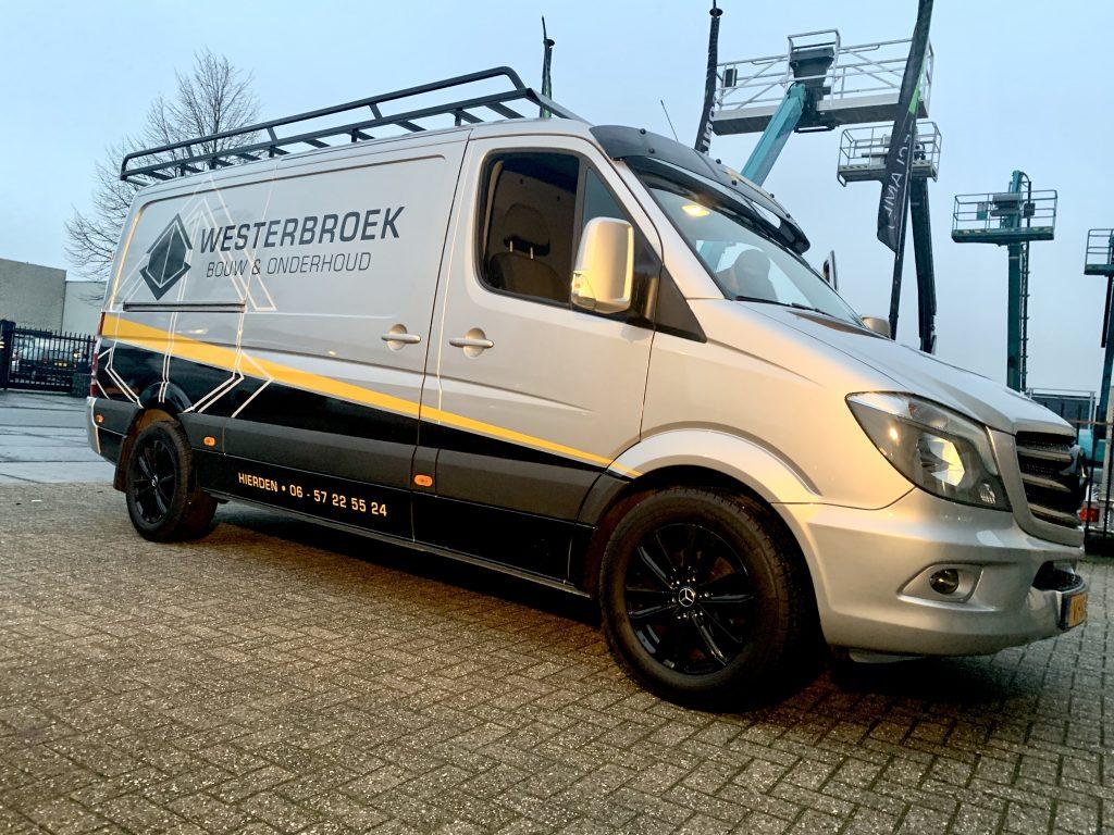 Westerbroek - autobelettering